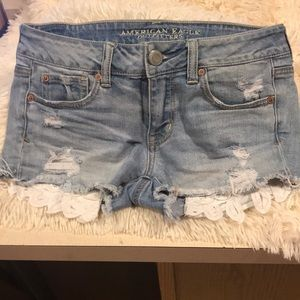 Shorty shorts size 4 AEO